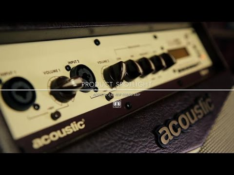 Product Spotlight - Acoustic A40 40 Watt Guitar Combo Amp
