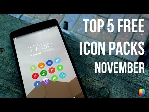 Top 5 Free Icon Packs - November