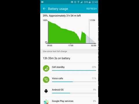 Samsung galaxy S6 - Battery issue fixed