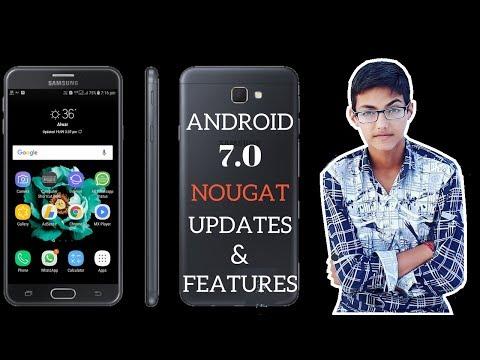 New android 7.0 Nougat Update for Samsung J7 & J7 prime