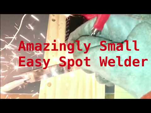 Incredible Little Spot Welder