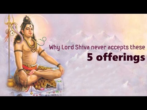 Why Lord Shiva never accepts these 5 offerings? | Shravan Maas | Shivratri