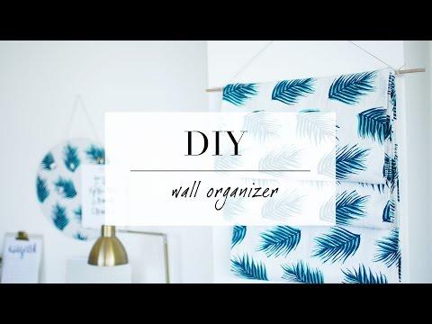 DIY Hanging Magazine/Wall Organizer Decor | ANN LE