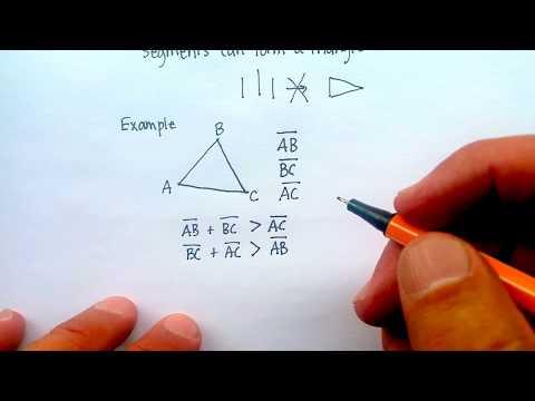 Triangles: Triangle Inequality Theorem