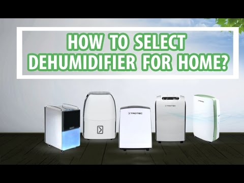 How to select Dehumidifier for Home to reduce Humidity - Easy Instructions | VackerGlobal