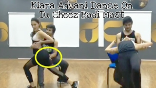 Throwback : Kiara Advani Dance Rehearsal Video on Tu Cheez Badi Mast