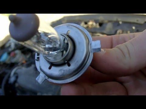 How to Change Headlight Bulbs Honda Civic