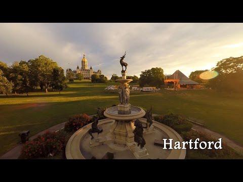 Hartford by Drone in 4K