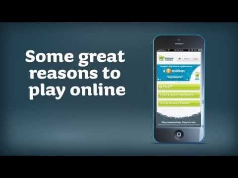 Playing National Lottery Games Online