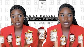 I TRIED BEING VEGAN FOR A WEEK FT. DAILY HARVEST   UNBOXING + REVIEW   iDESIGN8