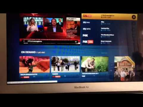 sky go da Mac su Apple Tv