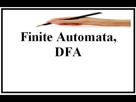 Finite Automata , DFA