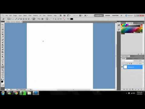 How To Make Custom Brushes in Photoshop CS5