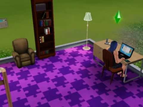 Sims 3 - Keyboard Head Bash