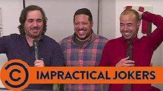 Joe's A Bad Receptionist - Impractical Jokers | Comedy Central UK