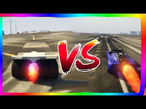 VIGILANTE VS ROCKET VOLTIC GTA ONLINE