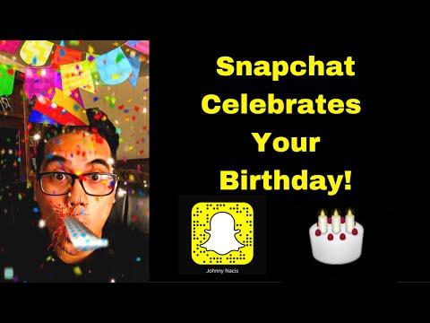 🎉Snapchat Birthday Party Update 2016 version 9.25.1.0 🎂