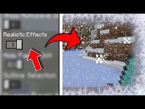 Minecraft PE - Realistic Effects #3