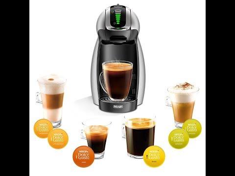 NESCAFÉ Dolce Gusto Genio 2 Coffee, Espresso and Cappuccino Pod Machine