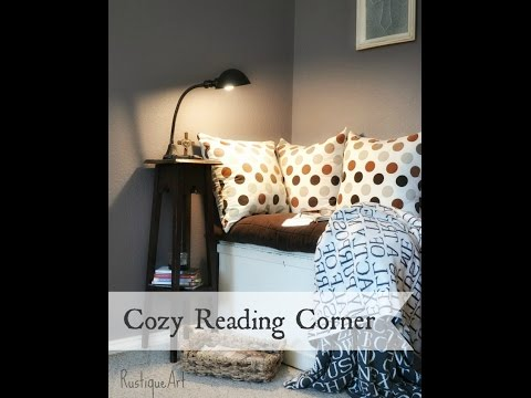 How to Create a Cozy Reading Corner