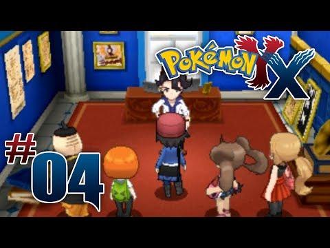 Let's Play Pokemon: X - Part 4 - Lumiose City