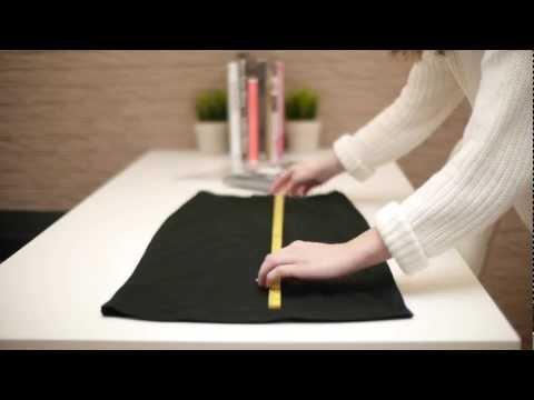How to Shorten a Skirt (hem a skirt)
