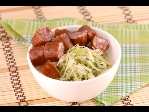 Cabbage and sausage recipe