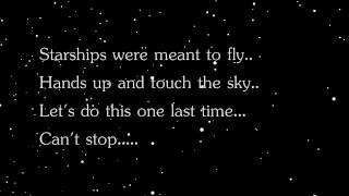 Nicki Manaj- Starships lyrics