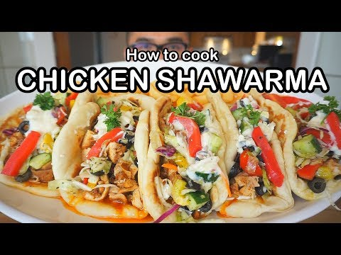 How to cook CHICKEN SHAWARMA