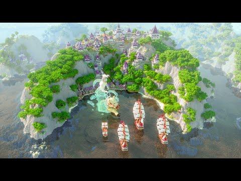 [Minecraft Timelapse] Azul Islands - by Varuna | 4K 60FPS