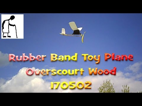 Rubber Band Powered Aircraft Toy Grade Rubber 170502
