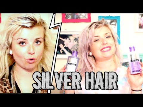 How to get silver/white/grey hair