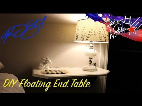 DIY Floating End Tables