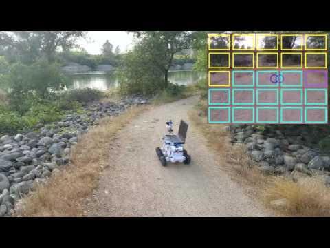 Fully Autonomous Off Road Robot Navigating Using Computer Vision