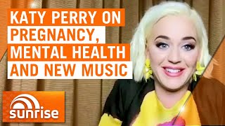 Katy Perry opens up about pregnancy, her mental health and new music on Australian TV   Sunrise
