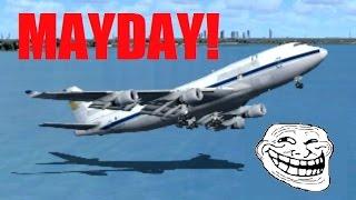 FSX Multiplayer Trolling: Boeing 747 Pilot Fails His Checkride (Crash at  JFK) - getplaypk
