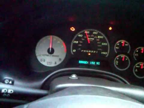 2008 Chevrolet Trailblazer SS 0-80 after throttle body cleaning