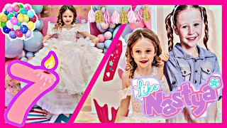 ✿ Nastya and her Birthday Party 7 years old