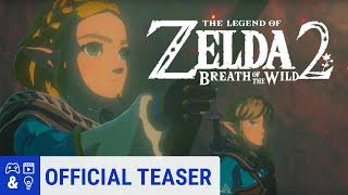 Zelda Breath of the Wild 2 - Sequel Reveal Trailer - E3 2019