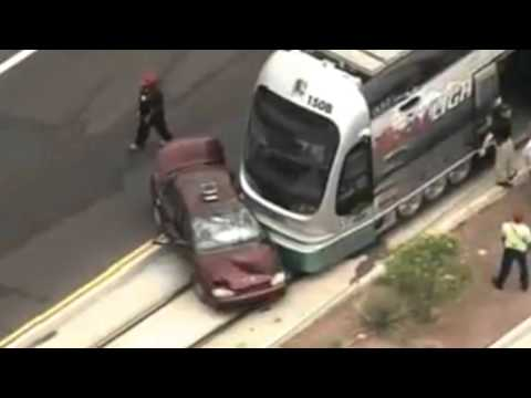 Train Hits Car   Train Crashes Into Car   Sound Effect 29