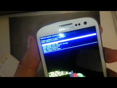 Samsung Galaxy S3 T mobile HARD RESET PASSWORD REMOVAL FACTORY RESTORE how to