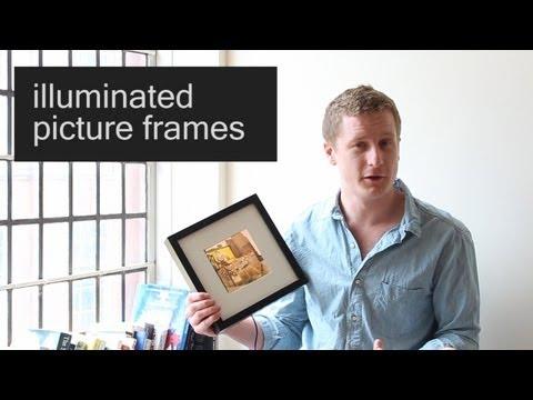How to make: 'Intelligently' Illuminated Photo Frames : Part 1