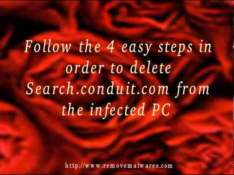 How to get rid of Search.conduit.com from your computer