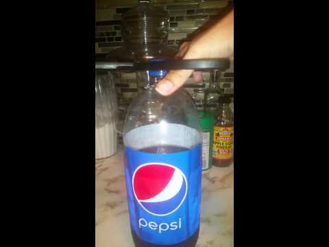 How to Open a bottle with Scissors!!!