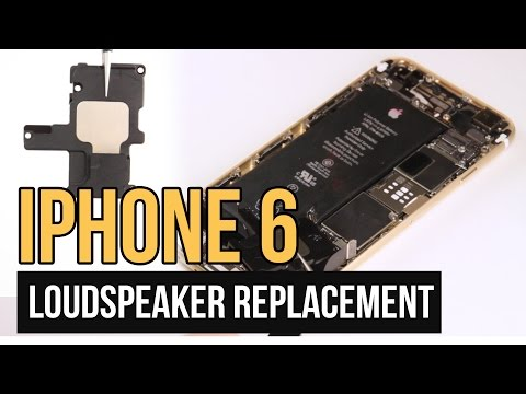 iPhone 6 Loudspeaker Replacement Video Guide