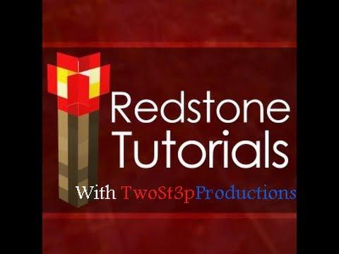 Redstone Tutorials - Minecraft Tutorial - Compact Piston Elevator v2 (Works in 1.6+)