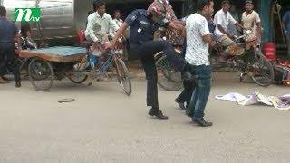 Panchagarh police kicking JSD leader