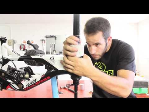 How to install headset cups (bearing races)