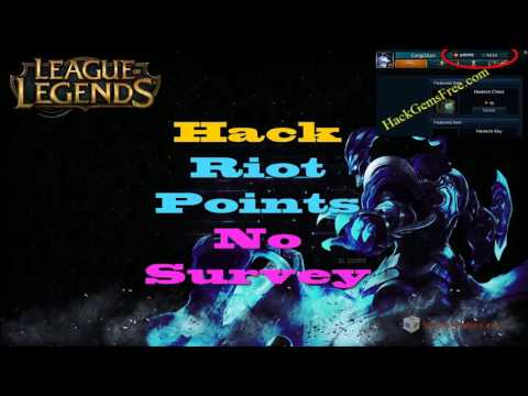 league of legends ph riot points hack