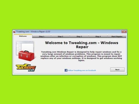 Windows Repair (All In One) FREE Repair Program